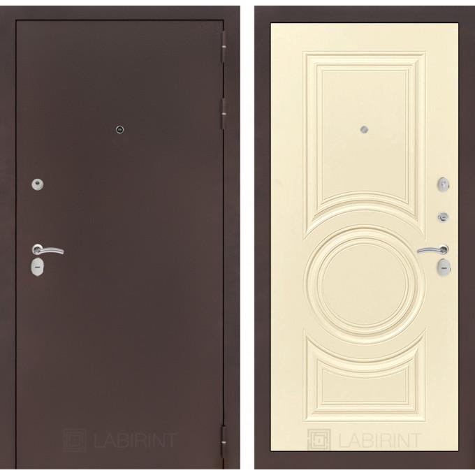 Дверь Лабиринт Classic 23 (Антик медный / Шампань софт)
