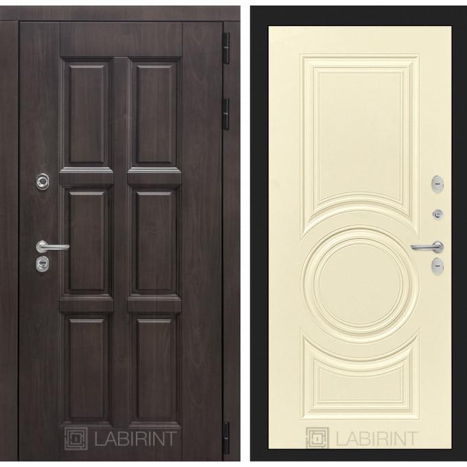 Стальная дверь Лабиринт Лондон с терморазрывом 23 (Шампань софт)