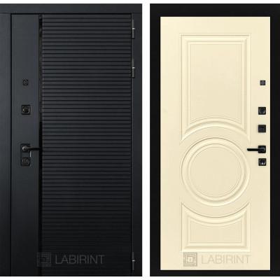 Стальная дверь Лабиринт Пиано 23 (Шампань софт)