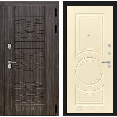 Стальная дверь Лабиринт SCANDI 23 (Шампань софт)