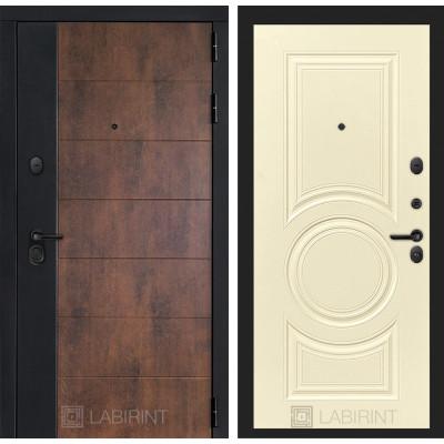 Стальная дверь Лабиринт Техно 23 (Шампань софт)
