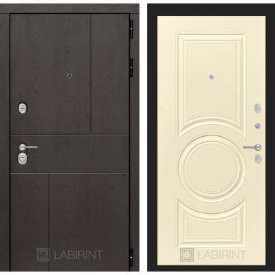 Стальная дверь Лабиринт URBAN 23 (Шампань софт)