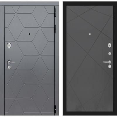 Стальная дверь Лабиринт COSMO 24 (Графит софт)
