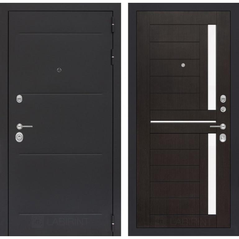 Стальная дверь Лабиринт LOFT 02 (Венге)