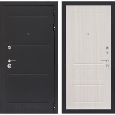 Стальная дверь Лабиринт LOFT 03 (Сандал белый)