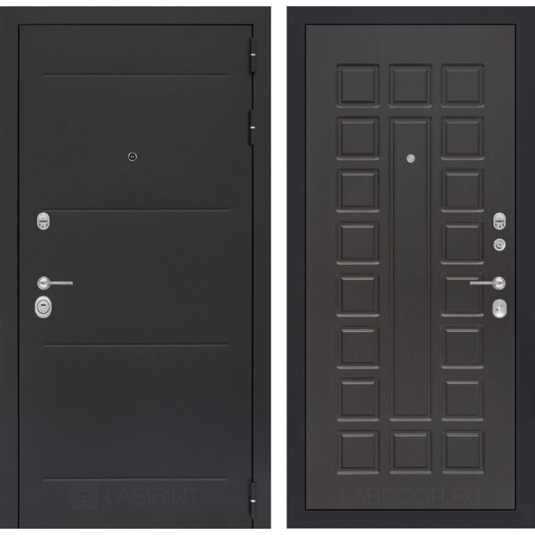 Стальная дверь Лабиринт LOFT 04 (Венге)