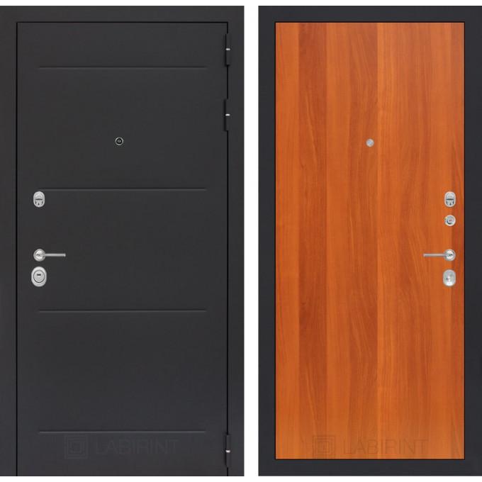 Стальная дверь Лабиринт LOFT 05 (Итальянский орех)