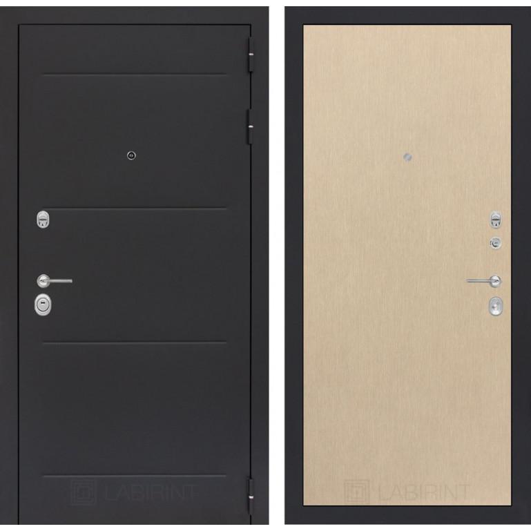 Стальная дверь Лабиринт LOFT 05 (Беленый дуб)
