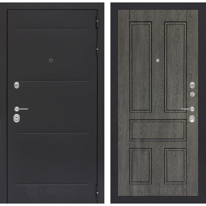 Стальная дверь Лабиринт LOFT 10 (Дуб филадельфия)