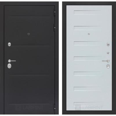 Стальная дверь Лабиринт LOFT 14 (Дуб кантри белый)