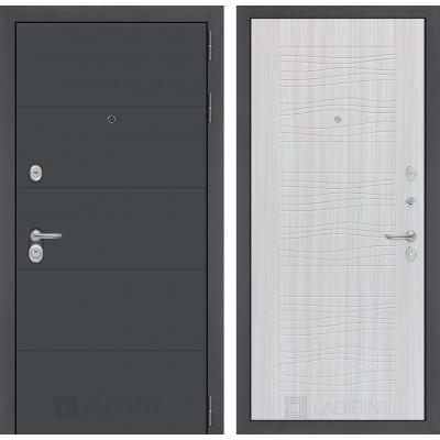 Стальная дверь Лабиринт ART 06 (Сандал белый)
