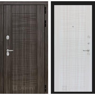 Стальная дверь Лабиринт SCANDI 06 (Сандал белый)