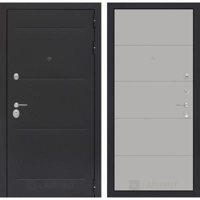 Стальная дверь Лабиринт LOFT 13 (Грей софт)