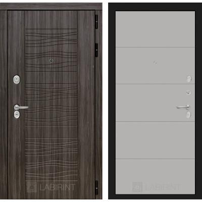 Стальная дверь Лабиринт SCANDI 13 (Грей софт)
