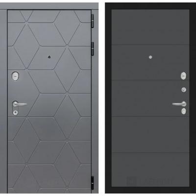 Стальная дверь Лабиринт COSMO 13 (Графит софт)