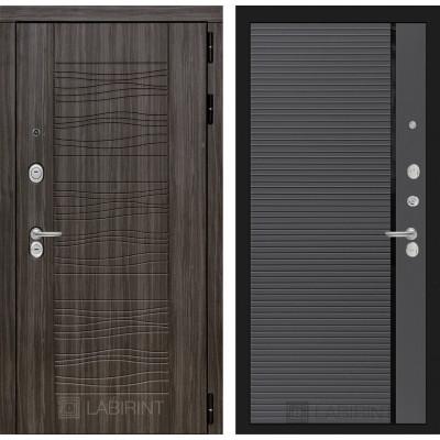 Стальная дверь Лабиринт SCANDI 22 (Графит софт)