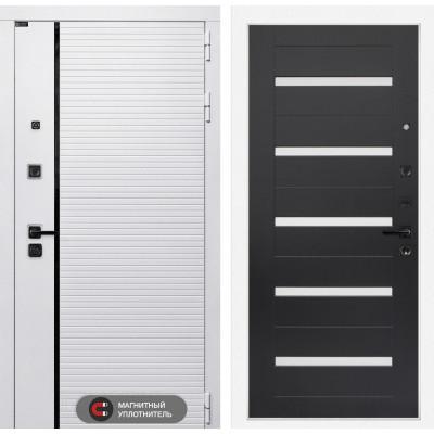 Стальная дверь Лабиринт Пиано WHITE 01 (Венге)