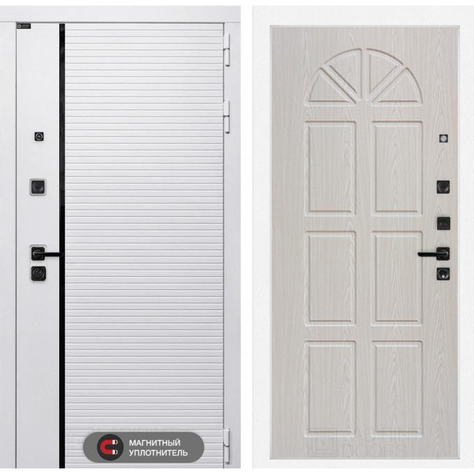 Стальная дверь Лабиринт Пиано WHITE 15 (Алмон 25)