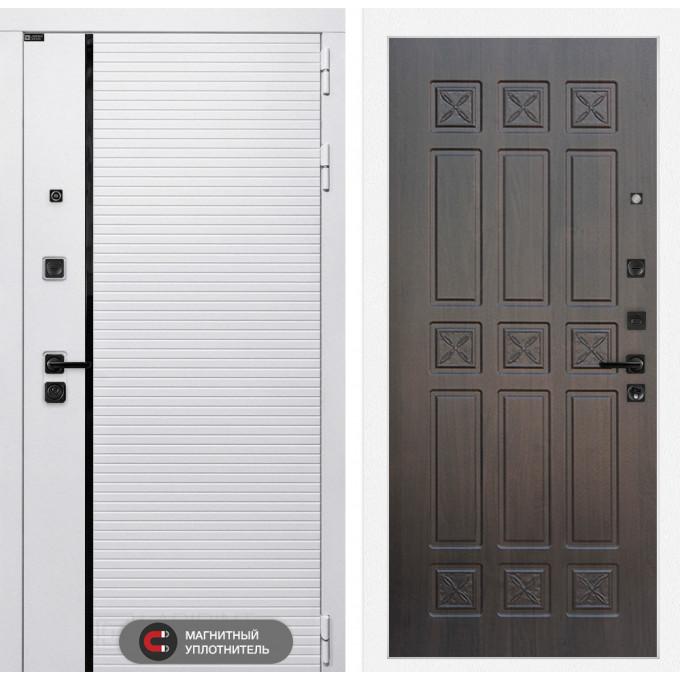 Стальная дверь Лабиринт Пиано WHITE 16 (Алмон 28)