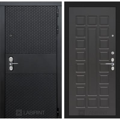 Стальная дверь Лабиринт BLACK 04 (Венге)