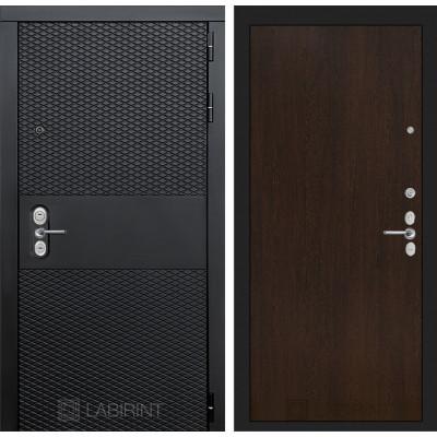 Стальная дверь Лабиринт BLACK 05 (Венге)