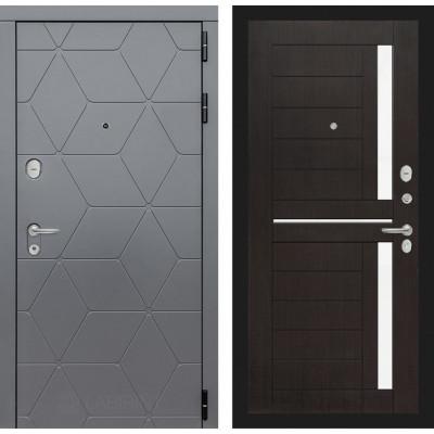 Стальная дверь Лабиринт COSMO 02 (Венге)