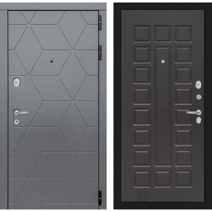 Стальная дверь Лабиринт COSMO 04 (Венге)