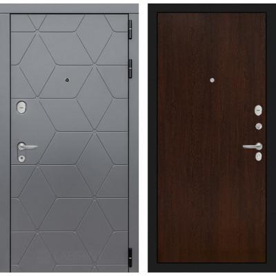 Стальная дверь Лабиринт COSMO 05 (Венге)