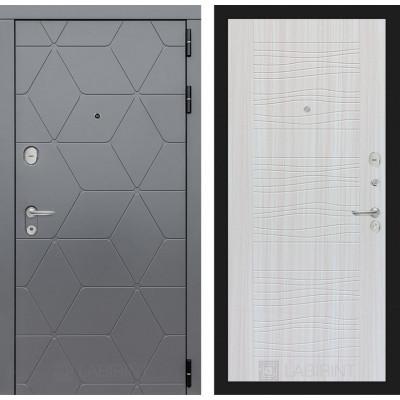 Стальная дверь Лабиринт COSMO 06 (Сандал белый)