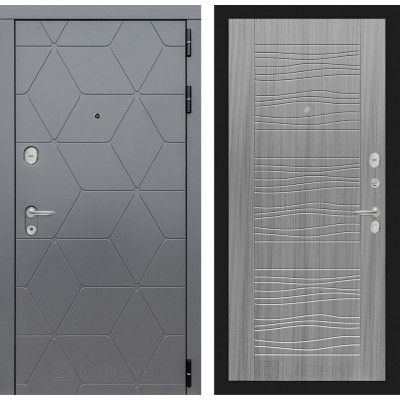 Стальная дверь Лабиринт COSMO 06 (Сандал серый)