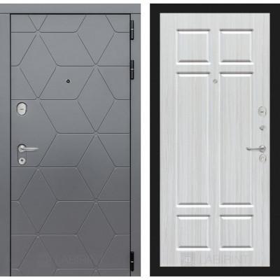 Стальная дверь Лабиринт COSMO 08 (Кристалл вуд)