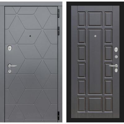 Стальная дверь Лабиринт COSMO 12 (Венге)