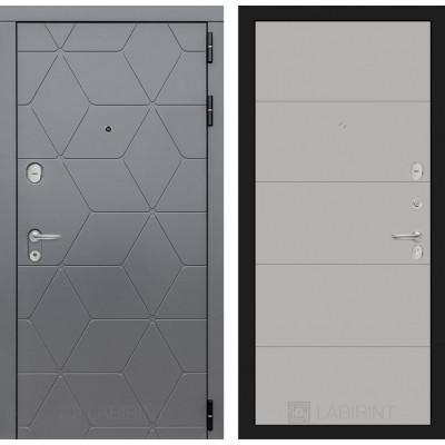 Стальная дверь Лабиринт COSMO 13 (Грей софт)