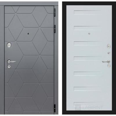 Стальная дверь Лабиринт COSMO 14 (Дуб кантри белый)