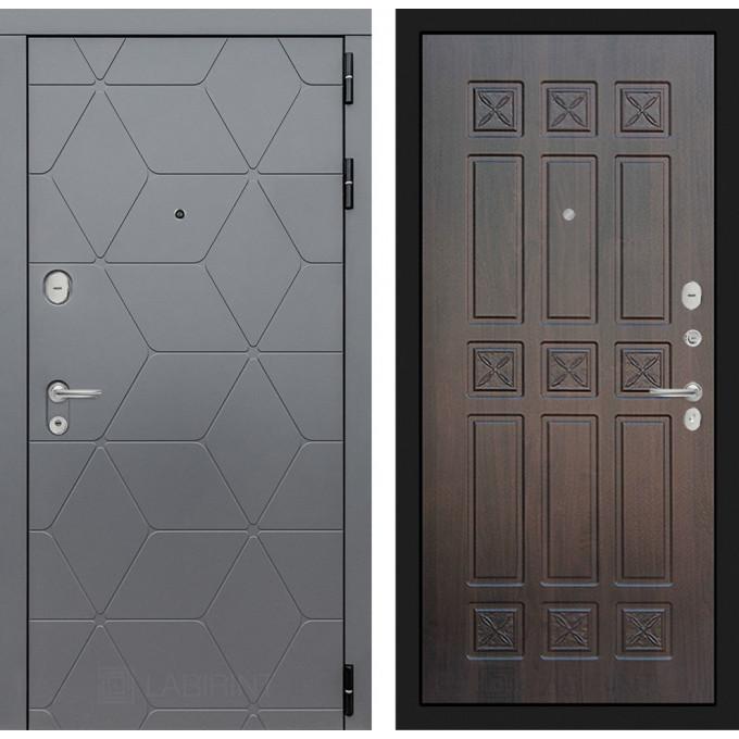 Стальная дверь Лабиринт COSMO 16 (Алмон 28)