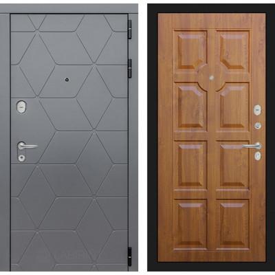 Стальная дверь Лабиринт COSMO 17 (Золотой дуб)
