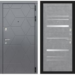 Стальная дверь Лабиринт COSMO 20 (Бетон светлый)