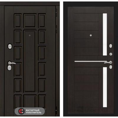 Стальная дверь Лабиринт NEW YORK 02 (Венге)