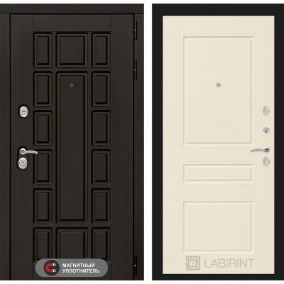 Стальная дверь Лабиринт NEW YORK 03 (Крем софт)