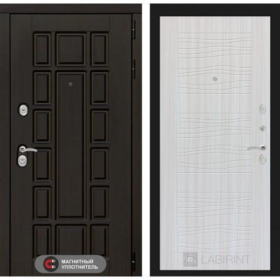 Стальная дверь Лабиринт NEW YORK 06 (Сандал белый)