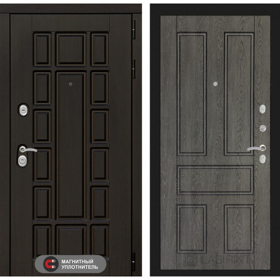 Стальная дверь Лабиринт NEW YORK 10 (Дуб филадельфия)