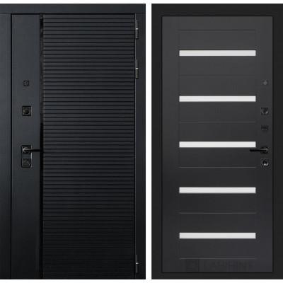Стальная дверь Лабиринт Пиано 01 (Венге)
