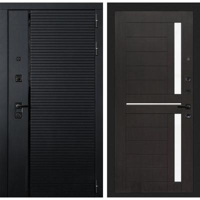 Стальная дверь Лабиринт Пиано 02 (Венге)