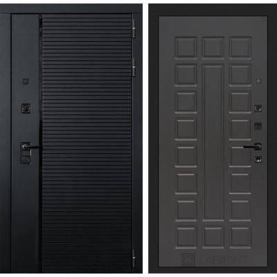 Стальная дверь Лабиринт Пиано 04 (Венге)