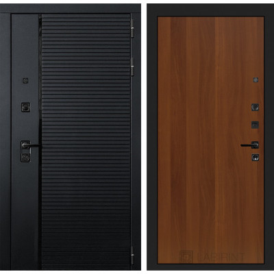Стальная дверь Лабиринт Пиано 05 (Итальянский орех)