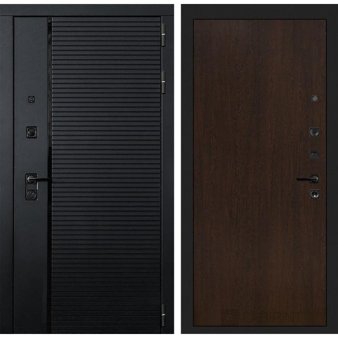 Стальная дверь Лабиринт Пиано 05 (Венге)