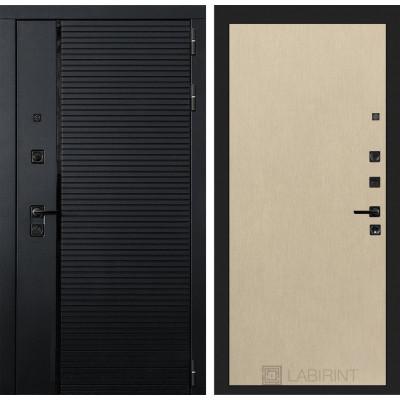 Стальная дверь Лабиринт Пиано 05 (Беленый дуб)