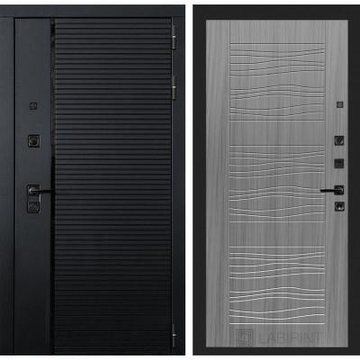 Стальная дверь Лабиринт Пиано 06 (Сандал серый)