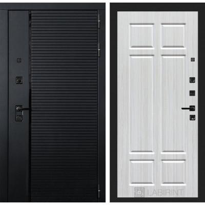 Стальная дверь Лабиринт Пиано 08 (Кристалл вуд)
