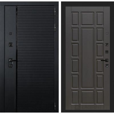 Стальная дверь Лабиринт Пиано 12 (Венге)